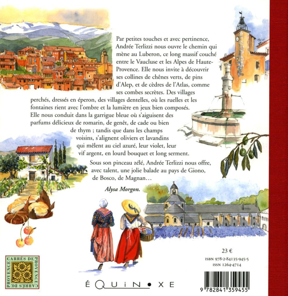 Balades Sur Les Chemins Du Luberon 9782841359455 Editions Equinoxe # Bibliotheque Luberon